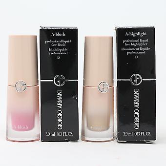 Giorgio Armani A-Line Liquid Blush 0.13oz/3.9ml Nouveau avec Boîte