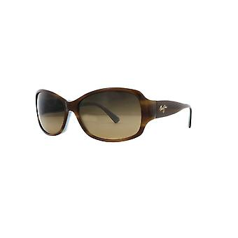 Maui Jim Nalani Gepolariseerde HS295 03T Schildpad met wit en blauw/HCL Bronzen zonnebril