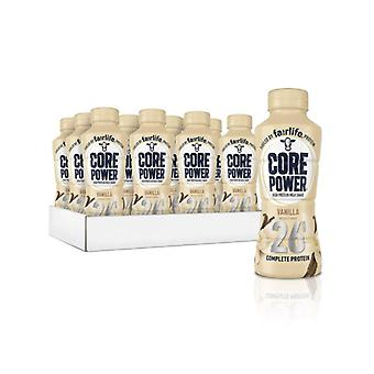 Core Power Vanilla Protein Milkshake-( 414 Ml X 12 Bottiglie )