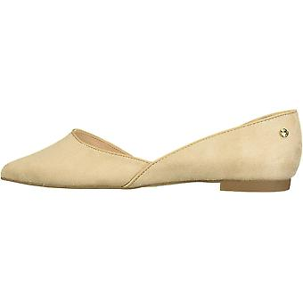 Tahari Womens Izabelle Suede Pointed Toe Ballet Flats