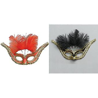 Bristol Novelty Unisex Adults Gran Gala Domino Mask