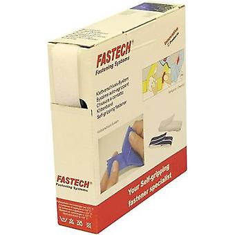 FASTECH® B25-SKL02000010 Hook-and-loop tape stick-on (hot melt adhesive) Hook pad (L x W) 10 m x 25 mm White 10 m