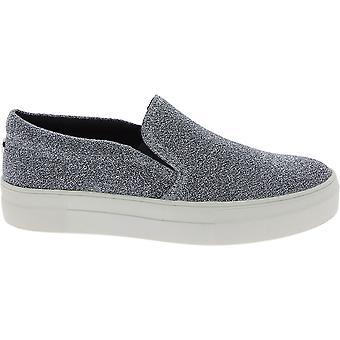 Steve Madden 910007180900814001 Damen's Silber synthetische Fasern Slip On Sneakers