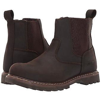 6&Australian Leather Work Boot & Construction Shoe, Oil, Slip & Acid Resista...