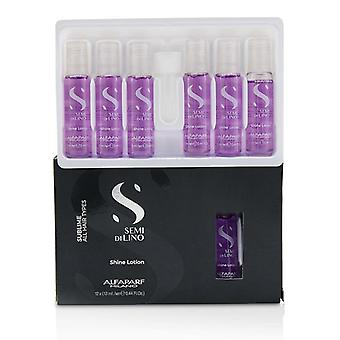 Alfaparf Semi Di Lino Sublime Shine Lotion (alle Haartypen) - 12x13ml/0.44oz