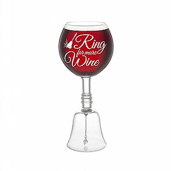 Bigmouth the ring for more wine glass