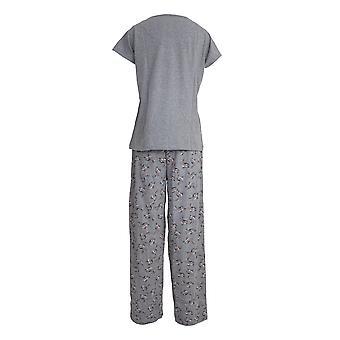 Chic-A-Mo Womens/Ladies Bunny Pyjama Set
