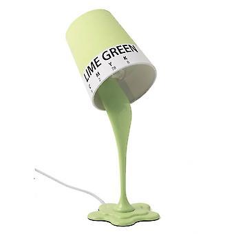 Malować wiadro zielony światło