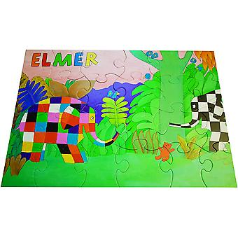 Elmar Giant Jungle Adventure Puzzle 24 Piece Floor Puzzle