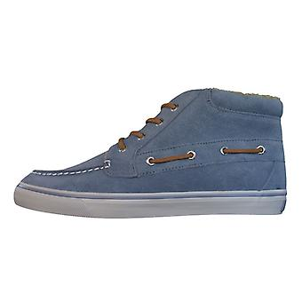 Sperry Betty Womens Leather Suede Boots / Shoes - Grey Blue