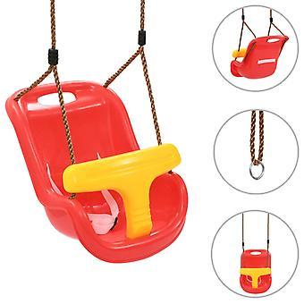 Baby swing med sikkerhedssele PP rød