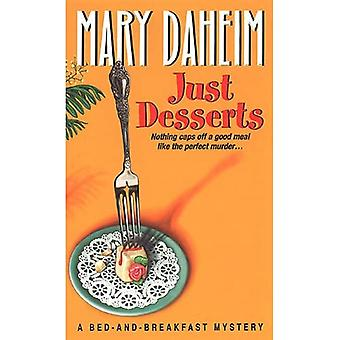Just Desserts: A Bed-and-breakfast Mystery (Bed-And-Breakfast Mysteries)