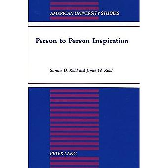 Person to Person Inspiration (American University Studies, Series 5: Philosophy)
