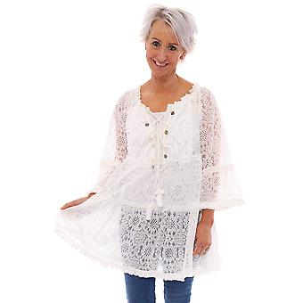 Made In Italy Anglesey Lace Shell Tuniek