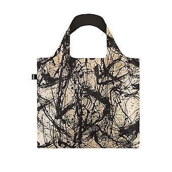 Loqi Women's Jackson Pollock Multicolor Nummer 32 Bag