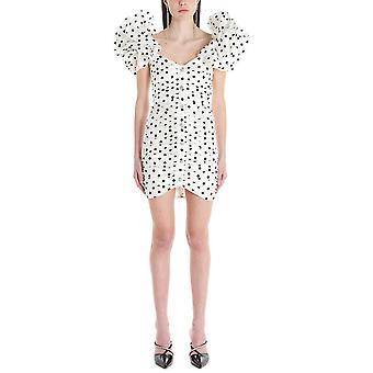 Alessandra Rich Fab2090f2784822 Mujer's Vestido de seda blanco