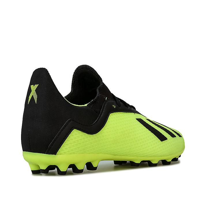 Boy's adidas Junior X 18.3 AG Football Boots in Yellow H8jgx0