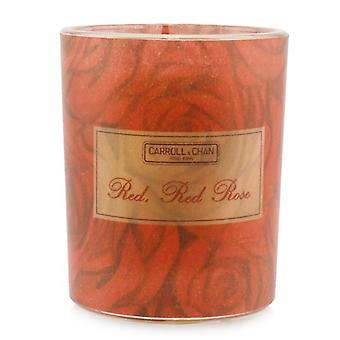Carroll & Chan 100% Beeswax Votive Candle - Red Red Rose 65g/2.3oz