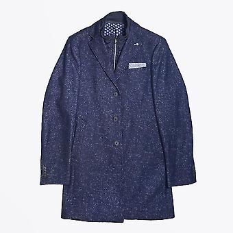 الصناعة الزرقاء - معطف الصوف الملطخ - البحرية