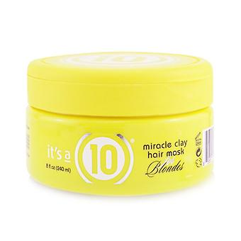Miracle Clay Hair Mask (for Blondes) - 240ml/8oz