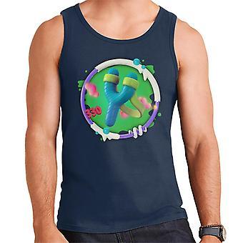Angry Birds Slingshot 3D Badge Men's Vest