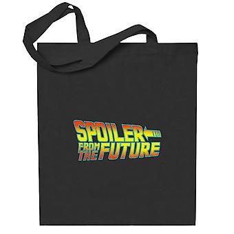 Back To Spoiler From The Future Totebag