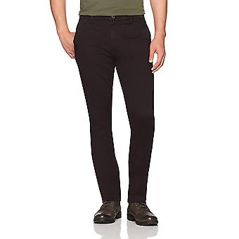 Goodthreads Men's Slim-Fit Washed Stretch Chino Pant,, Black, Size 35W x 32L
