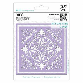 Xcut Dies Ornate Tile (2pcs) (XCU 503387)