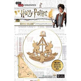 IncrediBuilds Emblematics Harry Potter Deathly Hallows by Insight Editions
