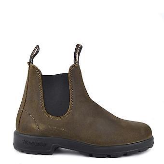 Blundstone 1615 Dark Olive Suede Boots