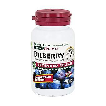 Blåbær (Blåbær) 30 tabletter