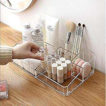 Large Makeup Organizer Cosmetic Storage Box For Desk, Bathroom