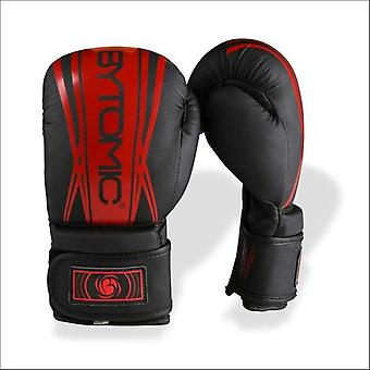 Bytomic axis v2 kids boxing gloves black/red