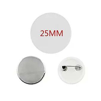Plastic Lege Badge Pin Knoop Onderdelen Benodigdheden voor kleding - Diy Ambachten