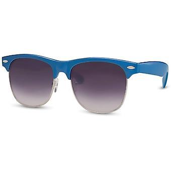 Okulary przeciwsłoneczne Unisex Wanderer czarny/niebieski (CWI222)