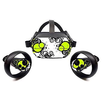 Vr Adjustable Touch Controller, Knuckle Straps For Oculus, Quest Skin Sticker,