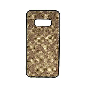 Phone Case Shockproof Cover Monogram GG For Samsung S10(5G) (Brown)