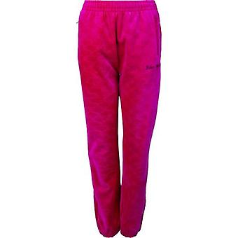 Juicy Couture Cherry Velour Cuffed Joggers