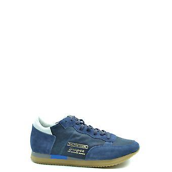 Philippe Modelo Ezbc019057 Men's Blue Camurça Tênis