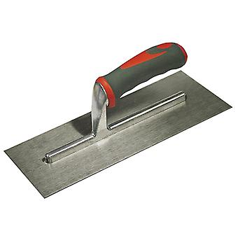 Faithfull Plasterers Trowel Stainless Steel Soft Grip Handle 13x5in FAISGTP13SS