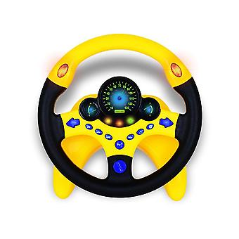 Cute Steering Wheel Toy With Light