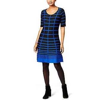 NY Collection Petite | Striped Fit & Flare Dress