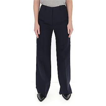 Pantalon Victoria Beckham 1120wtr00606a Femmes-apos;s Bleu Polyester