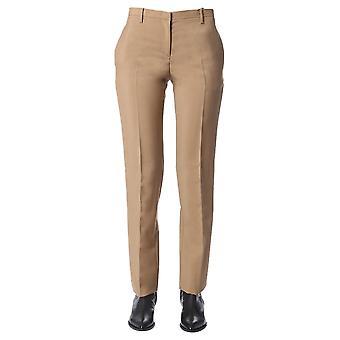 N°21 B05231672180 Women's Beige Wool Pants