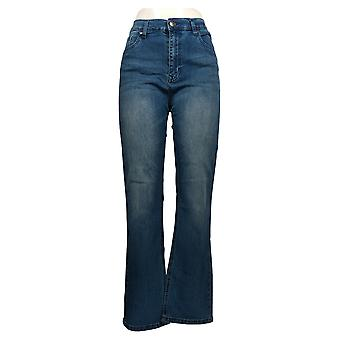DG2 by Diane Gilman Classic Stretch Boot-Cut Jeans Basic 675-242