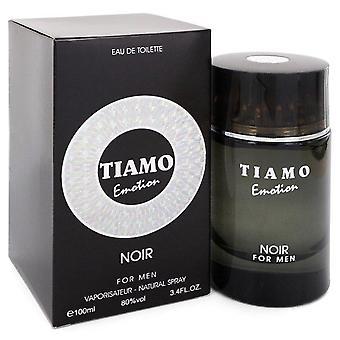 Tiamo Emotion Noir Eau De Toilette Spray par Parfum Blaze 3.4 oz Eau De Toilette Spray