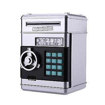 Stylish Electronic Atm Mini Password Money Box Piggy Bank - Automatic Deposit Banknote