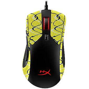 REYTID Durasoft Polymer Gaming Mouse Skin Grip Sticker Tape - PRE-CUT - Compatible avec HyperX PulseFire Raid - Slip-Resistant, WaterProof et Ultra-Comfortable Grips