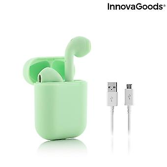 Wireless Headphones with Magnetic Charging NovaPods Green