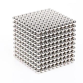 Rakenne Magneettinen Magic Cube blocks Beads Pallot Pallot Palapeli Metalli